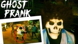 Video: Zfancy Tv Comedy - Scary Ghosts in Streets (African Pranks)
